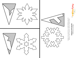 paper snowflake template wonderful diy paper snowflakes with