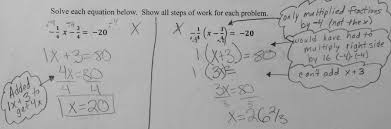 solve equations students are asked to solve two multistep
