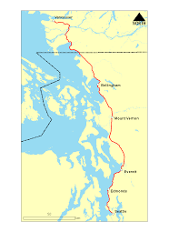 Amtrack Route Map by Transport Action Bc Amtrak Cascades Vancouver Seattle Train