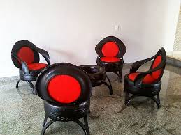 How To Use Old Tires For Decorating 25 Unique Tire Furniture Ideas On Pinterest Ottoman Furniture