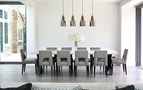 Oversized Dining Room Tables New York Funky Dining Chairs Room Contemporary With Bronze Table