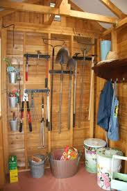 shed interior garden sheds and storage interior garden shed cedar shed interior