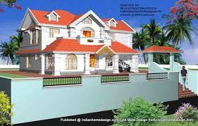 kerala style house 3d plans with photos
