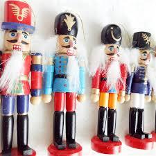 6pcs 12cm wooden decorations handwork
