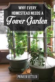 why every homestead needs a tower garden indoor gardening juice
