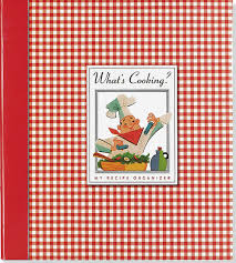 Peechy Folder What U0027s Cooking Recipe Organizer Recipe Book Recipe Keeper