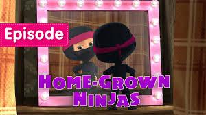 masha bear grown ninjas episode 51