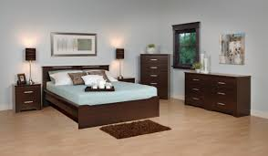 luxurious impression of black bedroom furniture sets