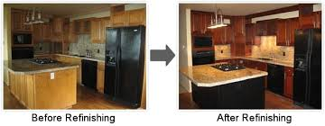 Refinished Kitchen Cabinets Popular Refurbish Kitchen Cabinets - Kitchen cabinets refinished