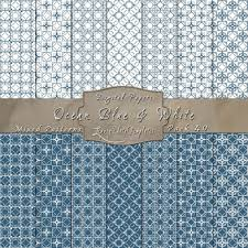 Mixed Patterns by Ocean Blue U0026 White Decorative Pattern Paper Pack
