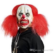 killer clown mask 2017 new killer clown mask mens hair