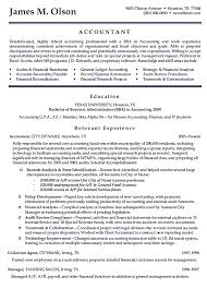 Professional Accountant Resume Example Writing Accountant Resume Sample Is Not That Complicated As How
