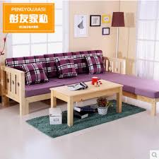 Pine Living Room Furniture by Solid Wood Sofa Fabric Combinations Pine Convertible Sofa Bed