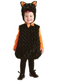 18 Month Halloween Costumes Boys Toddler Black Cat Costume