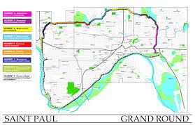 Minneapolis Neighborhood Map Minneapolis Grand Rounds Saint Paul Grand Round U003d Twin Cities