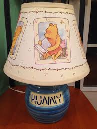lighting skinny table lamps winnie the pooh lamp night table