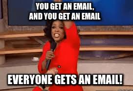 Email Meme - now is the time meme