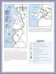 Map Oregon Coast by Oregon Coast Bike Route Maplets