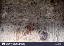 carved wall murals at angkor wat temple in siem reap cambodia carved wall murals at angkor wat temple in siem reap cambodia