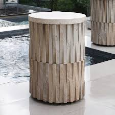 Drum Accent Table Small Table Small Tables End Table Side Table Side Tables