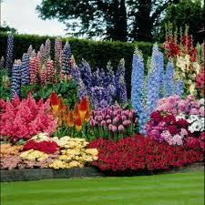 Pretty Flower Garden Ideas Rainbow Flower Garden Idea In The Garden Of