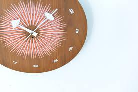 Mid Century Modern Desk Clock by Mid Century Desk Clock Hostgarcia