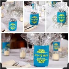 wedding koozie favors pinworthy ideas check out these pinworthy wedding can cooler