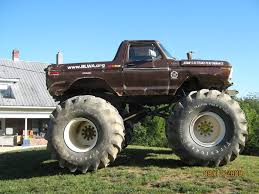 Ford Ranger Monster Truck Was There Ever A Bronco Monster Truck Page 2 Ford Bronco Forum