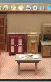 Dollhouse Kitchen Furniture by 24 Best Dollhouse Images On Pinterest Dollhouses Dollhouse