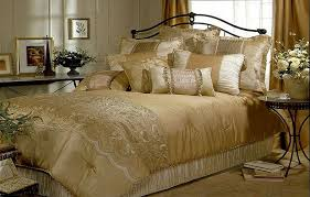 Bed Comforters Sets We 12 Luxuries Gold Bed Set To Inspire You Lostcoastshuttle
