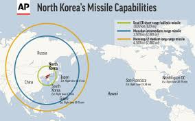 Korean Air Route Map by North Korea Threatens Strike On Guam Wnem Tv 5