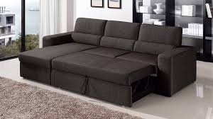 sofa with chaise and sleeper black brown clubber sleeper sectional sofa zuri furniture