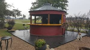 grain bin bar eating area my house pinterest bar backyard