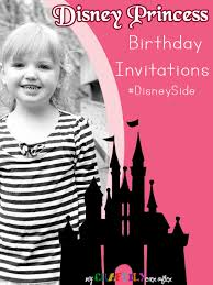 disney princess birthday party invitations my craftily ever after
