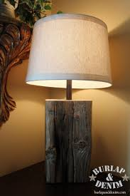 How To Make Wooden Desk Lamp by Diy Wooden Stump Lamp Nice Idea Just Drill A Hole Insert Light