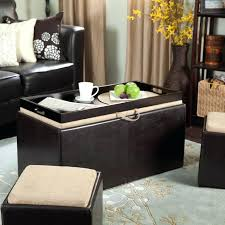 Storage Ottoman Coffee Table Black Storage Ottoman Coffee Table Fieldofscreams
