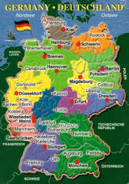 Dortmund Germany Map by Postcard Anthology Germany Map Postcards