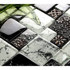awesome cheap glass mosaic tile backsplash regarding promote home