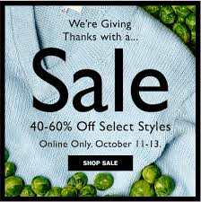aritzia canada thanksgiving sale get 40 60 select styles