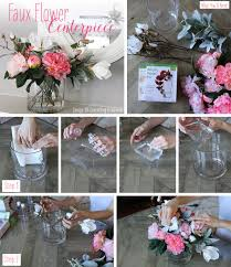 faux flowers diy centerpieces with faux flowers afloral