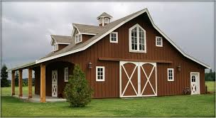 barn style homes plans engrossing horse barn style houses in metal barn homes plans metal
