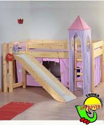 Bunk Bed With Slide And Tent Bunk Beds With Slidebunk Beds Thuka Maxi 12 Cabin Bunk Bed With