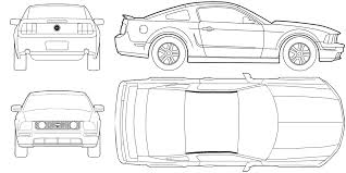 mustang blueprints google search cake pinterest cars ford