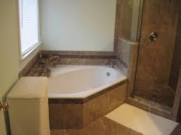 build your own concrete bathtub made of tile soaking tub around