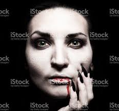 portrait of a female vampire stock photo 491905620 istock