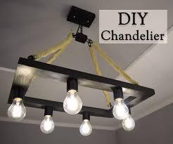 Gun Chandelier by Diy Rustic Industrial Style Hemp Rope Chandelier For 35 15 Steps