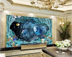 wall murals cave promotion shop for promotional wall murals cave 3d room wallpaper custom photo mural underwater spiral cave dolphin picture decor painting 3d wall mural wallpaper for walls 3 d