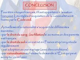 nationalitã franã aise mariage nationalité citoyenneté française et citoyenneté européenne ppt