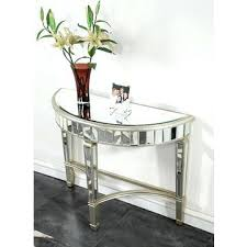 half moon table target half moon mirror chair target console table with drawers sofa end
