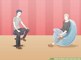 3 ways to make a look like a boy wikihow